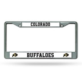 Colorado Buffaloes Chrome Frame