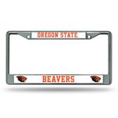 Oregon State Beavers Chrome Frame