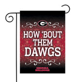 "Georgia Bulldogs Garden Flag 13"" X 18"""