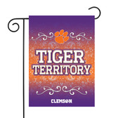 "Clemson Tigers Garden Flag 13"" X 18"""
