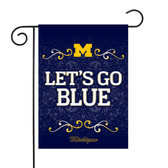 "Michigan Wolverines Garden Flag 13"" X 18"""