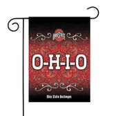 "Ohio State Buckeyes Garden Flag 13"" X 18"""