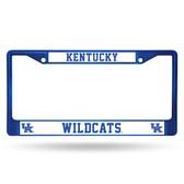 Kentucky Wildcats BLUE COLORED Chrome Frame