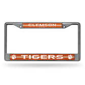 Clemson Tigers Bling Chrome Frame