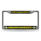 Appalachian State Mountaineers Bling Chrome Frame