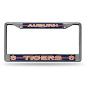 Auburn Tigers Bling Chrome Frame