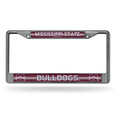 Mississippi State Bulldogs Bling Chrome Frame