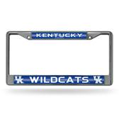 Kentucky Wildcats Bling Chrome Frame