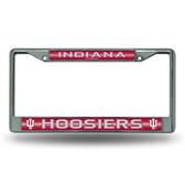 Indiana Hoosiers Bling Chrome Frame