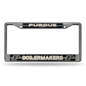 Purdue Boilermakers BLING Chrome Frame