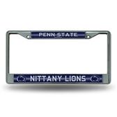 Penn State Nittany Lions Bling Chrome Frame