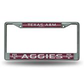 Texas A&M Aggies Bling Chrome Frame