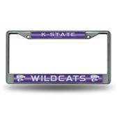 Kansas State Wildcats Bling Chrome Frame