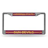 Arizona State Sun Devils BLING Chrome Frame