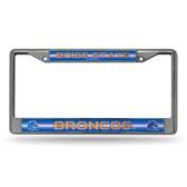 Boise State Broncos BLING Chrome Frame