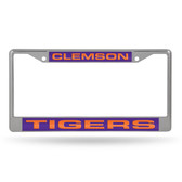 Clemson Tigers  LASER Chrome Frame