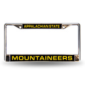 Appalachian State Mountaineers LASER Chrome Frame