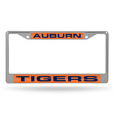 Auburn Tigers  LASER Chrome Frame