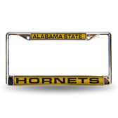 Alabama Crimson Tide STATE LASER Chrome Frame