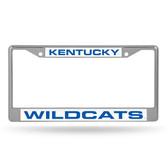 Kentucky Wildcats  LASER Chrome Frame