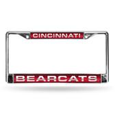 Cincinnati Bearcats RED LASER Chrome Frame