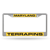 Maryland Terrapins  LASER Chrome Frame