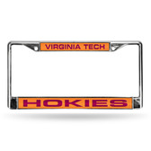 Virginia Tech Hokies ORANGE LASER Chrome Frame