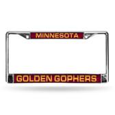 Minnesota Golden Gophers MAROON LASER Chrome Frame