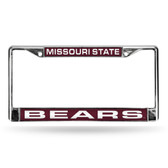 Missouri Tigers ST LASER Chrome Frame