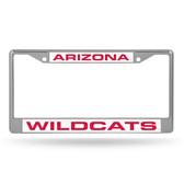 Arizona Wildcats  LASER Chrome Frame