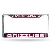 Montana Grizzlies LASER Chrome Frame