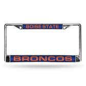 Boise State Broncos BLUE LASER Chrome Frame