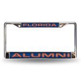 Florida Gators ALUMNI LASER Chrome Frame