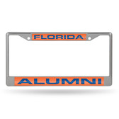 Florida Gators ALUMNI ORANGE LASER Chrome Frame