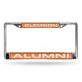 Clemson Tigers ALUMNI LASER Chrome Frame