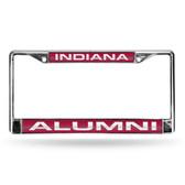 Indiana Hoosiers ALUMNI LASER Chrome Frame