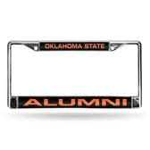 Oklahoma State Cowboys ALUMNI LASER Chrome Frame