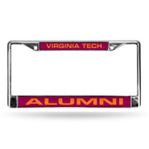 Virginia Tech Hokies ALUMNI LASER Chrome Frame