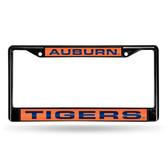 Auburn Tigers BLACK LASER Chrome Frame