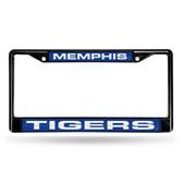 Memphis Tigers BLACK LASER Chrome Frame