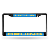 UCLA Bruins BLACK LASER Chrome Frame