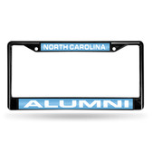 North Carolina Tar Heels ALUMNI BLACK LASER FRAME