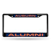 Auburn Tigers ALUMNI BLACK LASER FRAME