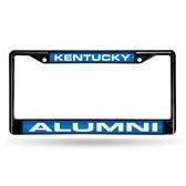Kentucky Wildcats ALUMNI BLACK LASER FRAME