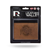 Ohio State Buckeyes Leather Trifold Wallet