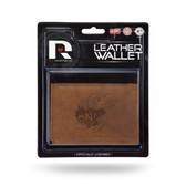 Kansas Jayhawks Leather Trifold Wallet