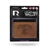 Washington State Cougars Leather Trifold Wallet