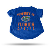 Florida Gators ROYAL PET T-SHIRT - SMALL