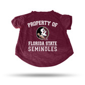 Florida State Seminoles MAROON PET T-SHIRT - SMALL