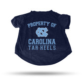 North Carolina Tar Heels NAVY PET T-SHIRT - XL